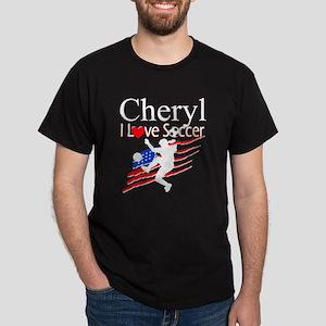 SOCCER GIRL Dark T-Shirt
