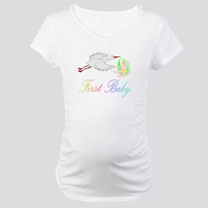 First Baby Maternity T-Shirt
