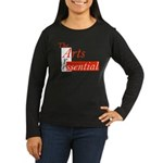 Essential Arts Women's Long Sleeve Dark T-Shirt