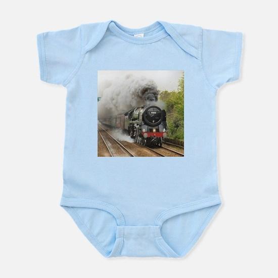 locomotive train engine 2 Body Suit