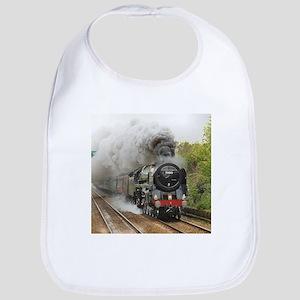locomotive train engine 2 Baby Bib