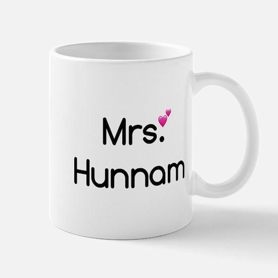 Mrs. Hunnam Mugs