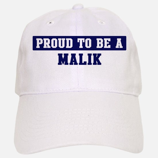 Proud to be Malik Baseball Baseball Cap