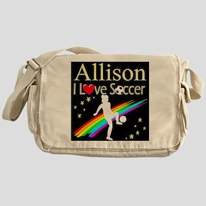SOCCER GIRL Messenger Bag