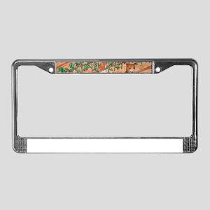 Summer Harvest License Plate Frame