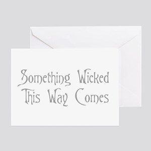 2-Something Wicked Greeting Cards