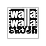 "Crush Logo Square Sticker 3"" X 3"""