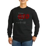 HamTees.com Long Sleeve Dark T-Shirt