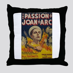 The Passion of Joan of Arc Movie Poster Throw Pill