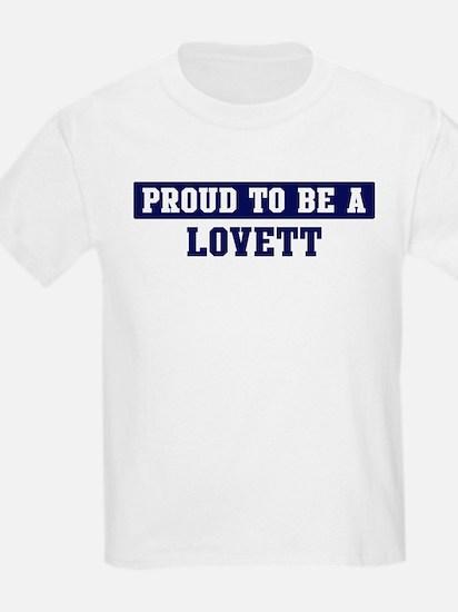 Proud to be Lovett T-Shirt