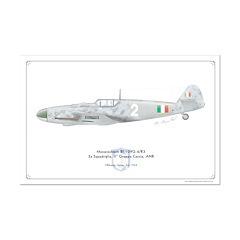 Bf 109G-6/R3 3a Squadriglia, II Gruppo Caccia, ANR