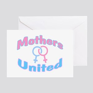 Mothers United Greeting Card
