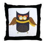 Awesome Owl Throw Pillow