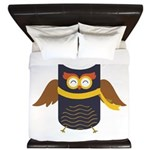 Awesome Owl King Duvet