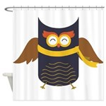 Awesome Owl Shower Curtain
