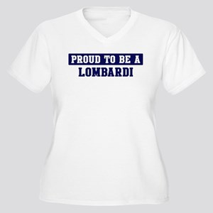 Proud to be Lombardi Women's Plus Size V-Neck T-Sh
