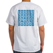 Interstate Love Sign (Back) Light T-Shirt