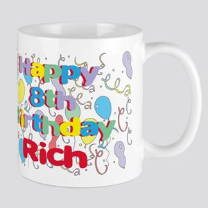 Rich's 8th Birthday Mug