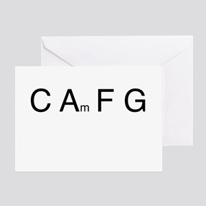 Chord Sequence Greeting Card