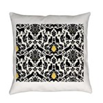 Damsel Cat by Traci K Everyday Pillow