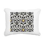Damsel Cat by Traci K Rectangular Canvas Pillow