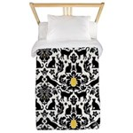 Damsel Cat by Traci K Twin Duvet Cover