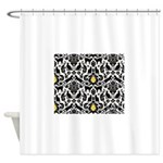 Damsel Cat by Traci K Shower Curtain