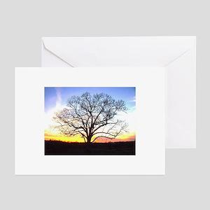 Pretty Tree Silhouette Greeting Cards (10-pk)