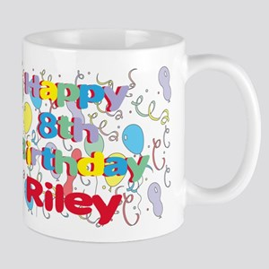 Riley's 8th Birthday Mug