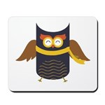 Awesome Owl Mousepad