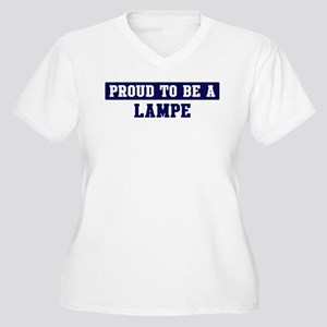 Proud to be Lampe Women's Plus Size V-Neck T-Shirt