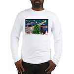 Xmas Magic & Choc Lab Long Sleeve T-Shirt