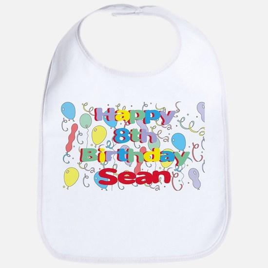 Sean's 8th Birthday Bib