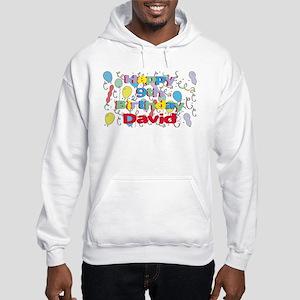 David's 9th Birthday Hooded Sweatshirt
