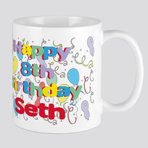 Seth's 8th Birthday Mug