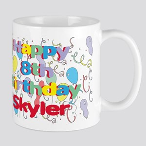 Skyler's 8th Birthday Mug