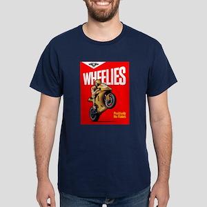 WHEELIES Navy T-Shirt
