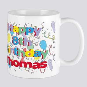 Thomas's 8th Birthday Mug