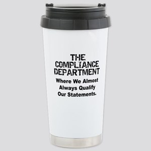 Qualified Compliance Stainless Steel Travel Mug