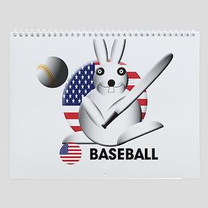 baseball Wall Calendar