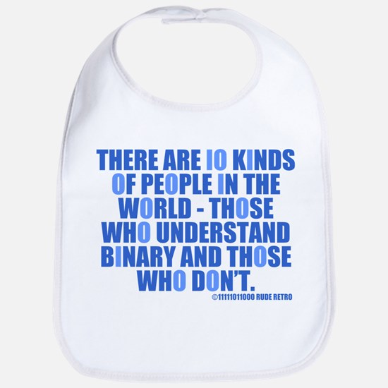 10 Kinds of People Bib