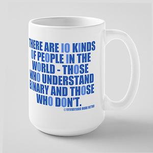 10 Kinds of People Large Mug
