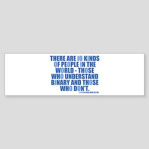 10 Kinds of People Bumper Sticker