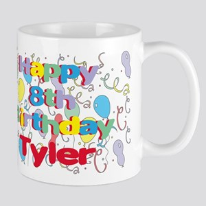 Tyler's 8th Birthday Mug