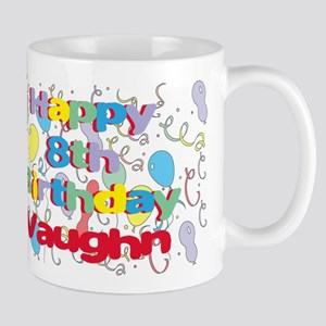 Vaughn's 8th Birthday Mug