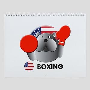 boxing Wall Calendar