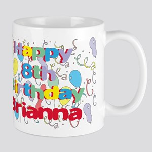 Briana's 8th Birthday Mug