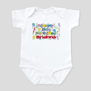 Briana's 8th Birthday Infant Bodysuit