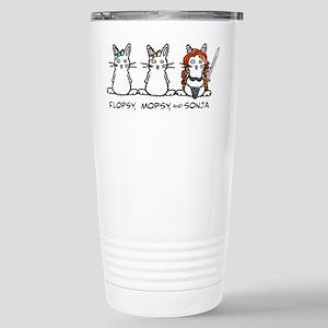 Flopsy/Mopsy/Sonja Stainless Steel Travel Mug