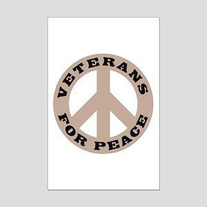 Veterans For Peace Mini Poster Print